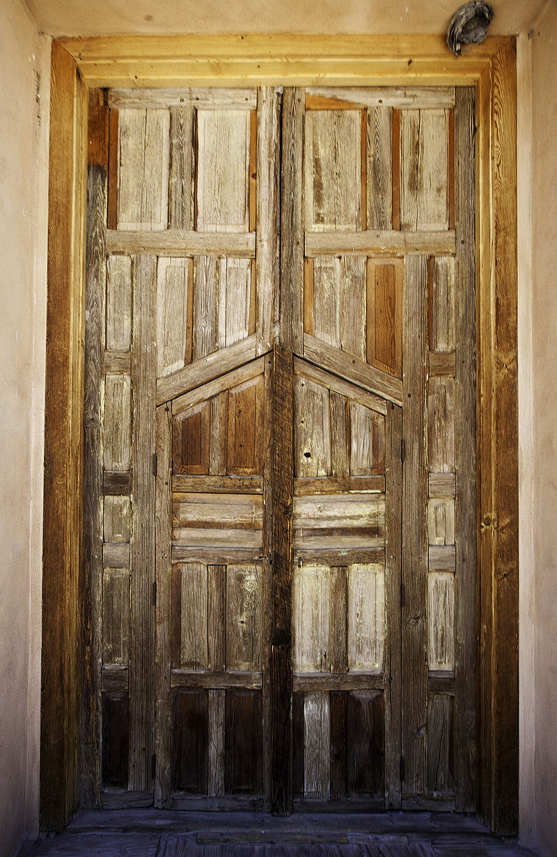 door in Abiquiu New Mexico