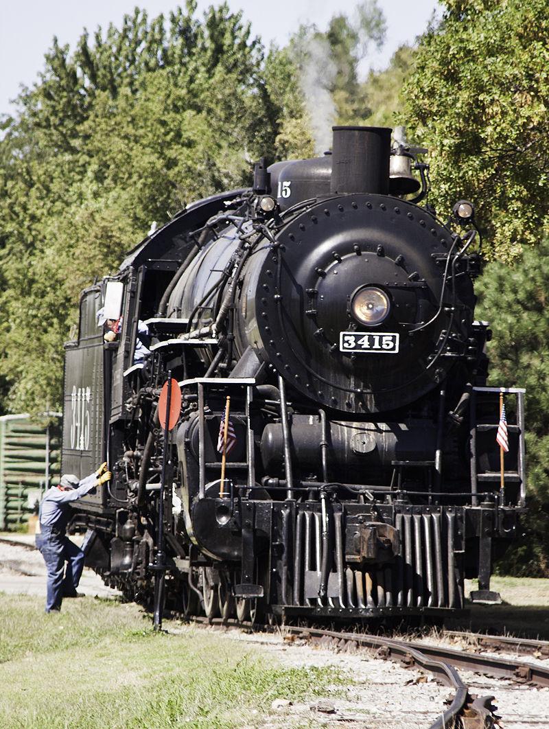 antique engine in abilene kansas