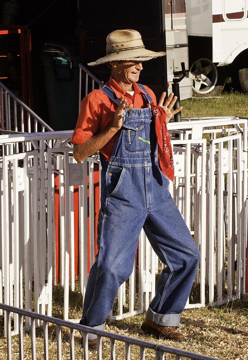 pig race barker at kansas state fair