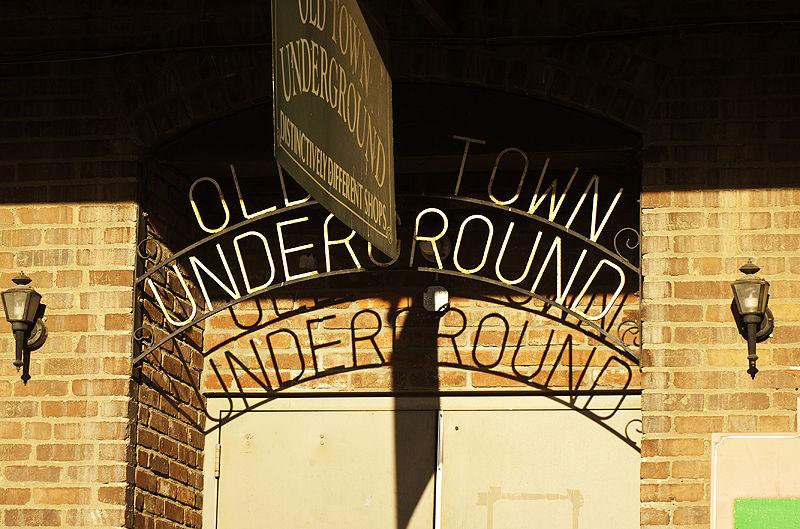 underground in the sun