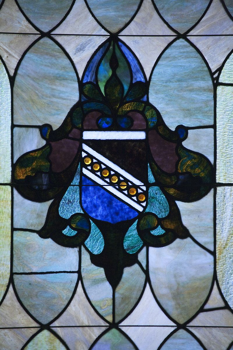 stained glass from albert pike temple
