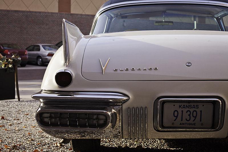 cadillac eldorado coupe from behind