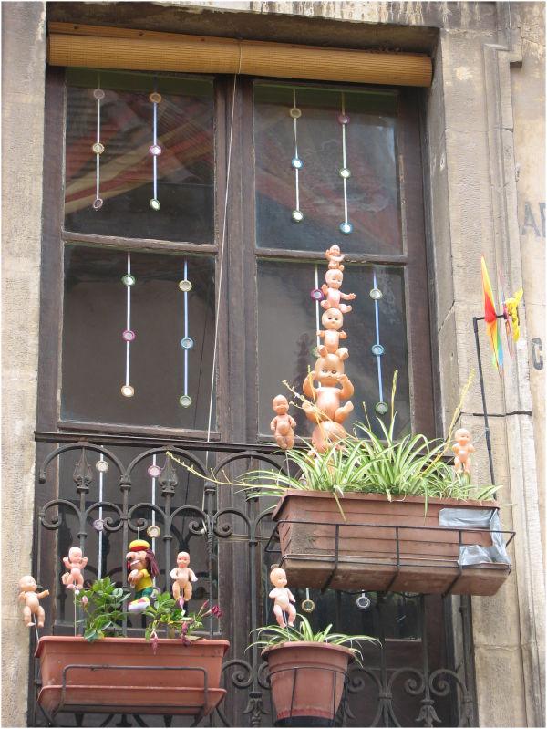 Puppets on a stick