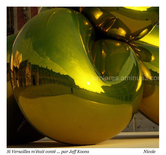 Exposition de Jeff Koons à Versailles