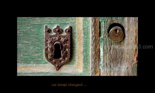 Porte d'entrée du château de Chenonceau