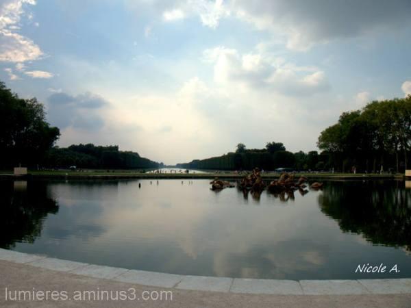 Just 8 days ago I was in my beloved Versailles