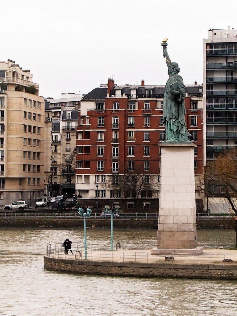Miss Liberty...in Paris