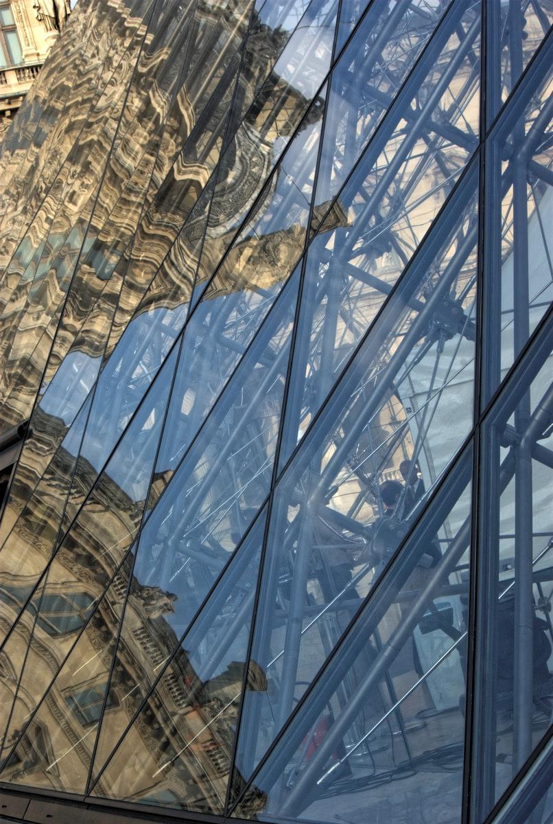 Au Louvre à Paris
