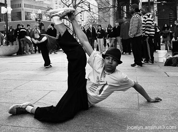 Sidewalk Performer