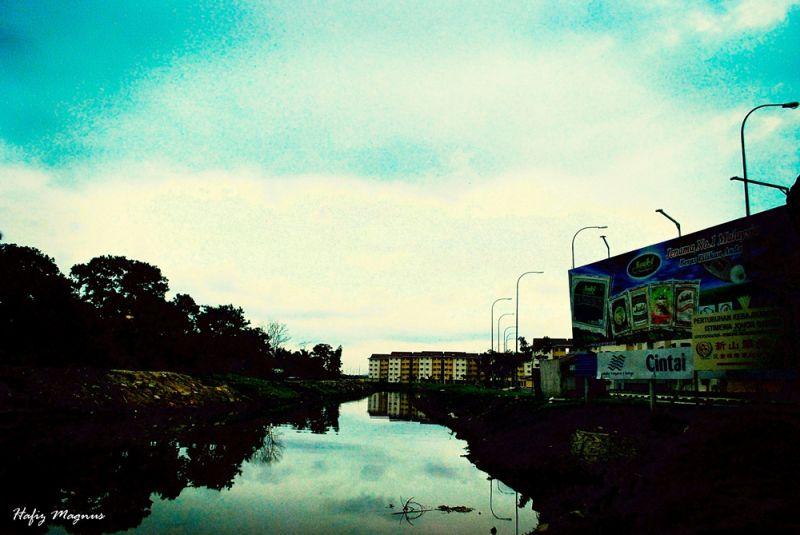 Government housing in Johor Baru, Malaysia.