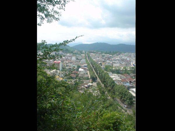 Landscape form Lahijan,Rasht at SHeitan KHoh