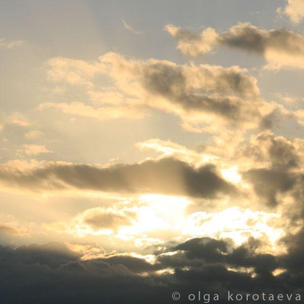 Sunny clouds