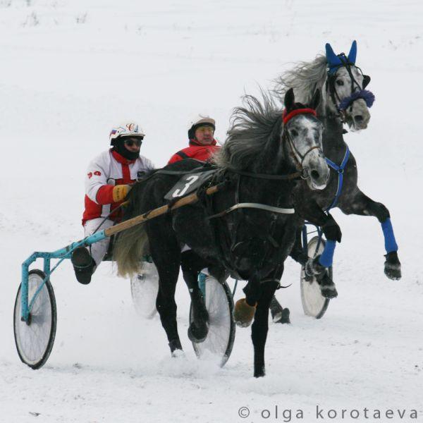 Opening of the Winter Racing Season, Credit & Max