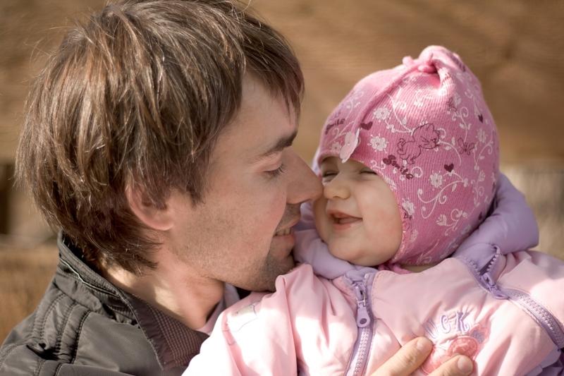 Loving daddy))
