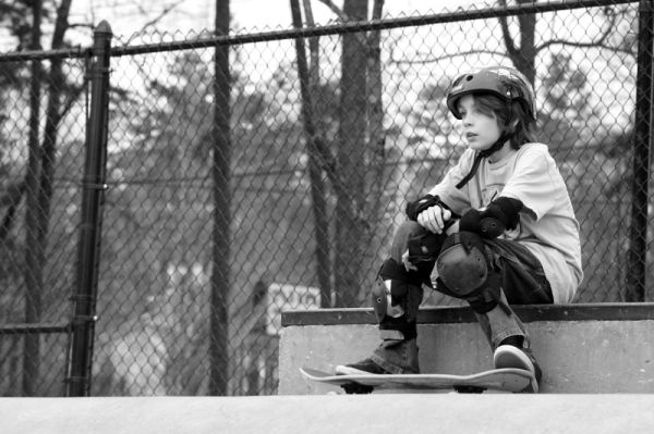 Waiting to Skate
