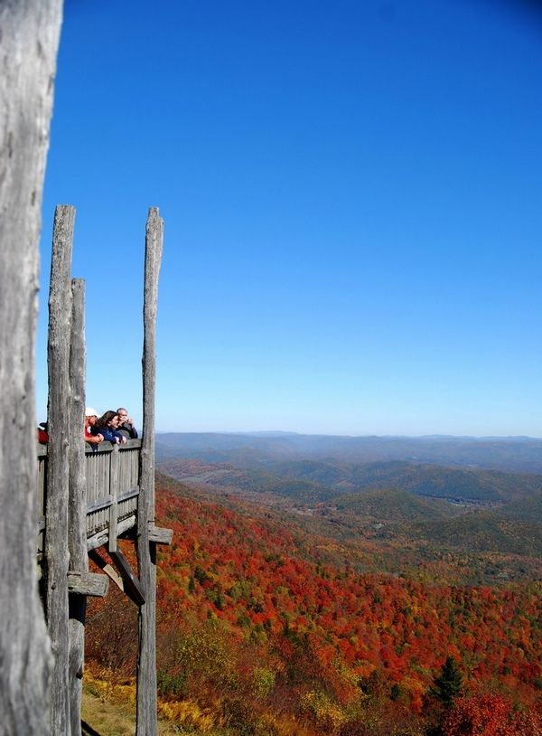 Bald Knob Point, Back Allgeheny Mountain