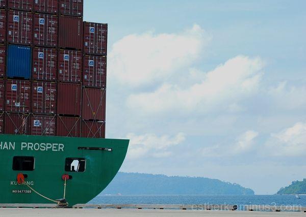 Port 3 - Vessel At Berth