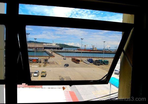 kota kinabalu port sabah malaysian borneo