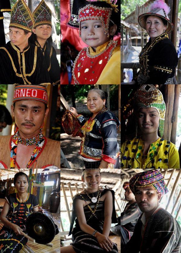 sabah fest cultural village kadazan lotud dusun