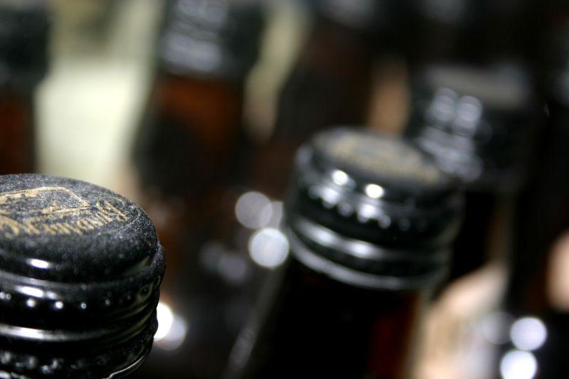 dusty bottles peachee