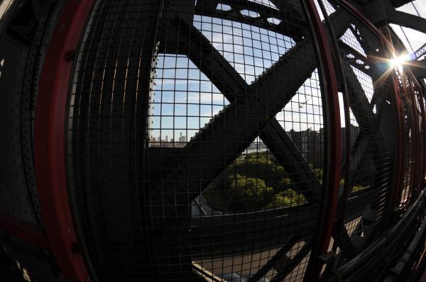 Williamsburg Bridge/Fisheye 2