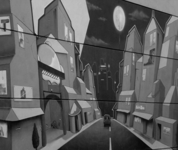 alley wall painting