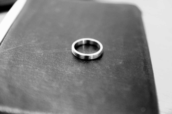 "3/4"" stainless steel ring"