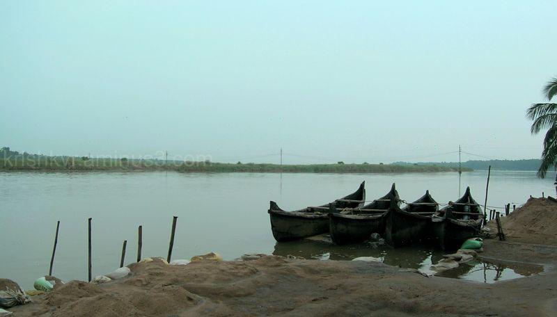 riverside, boat