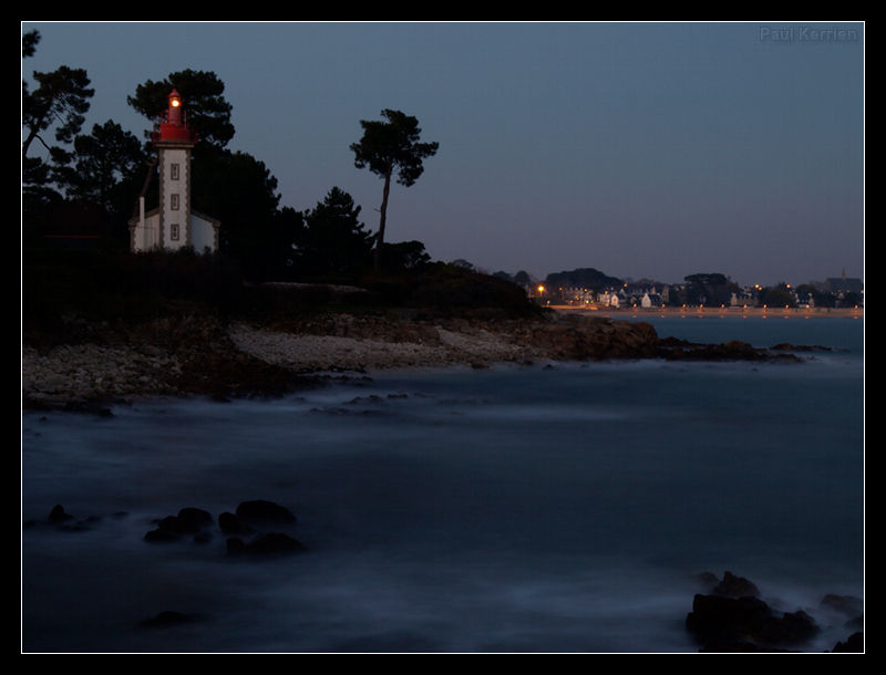 Le soir à Sainte Marine