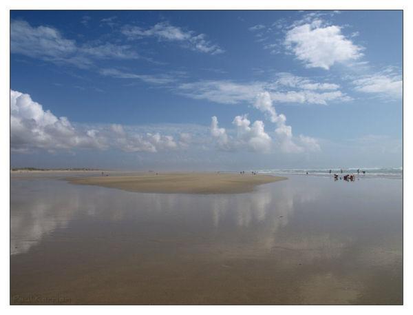 low tide : marée basse