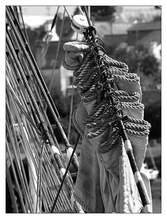 3-masts belem in Concarneau
