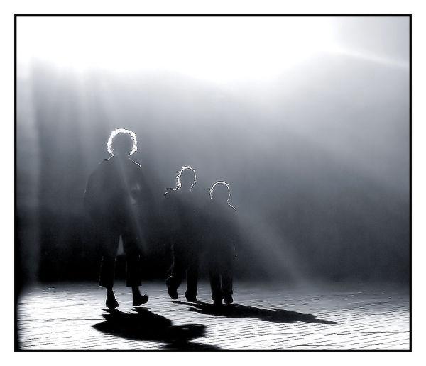 Entrer dans la lumière