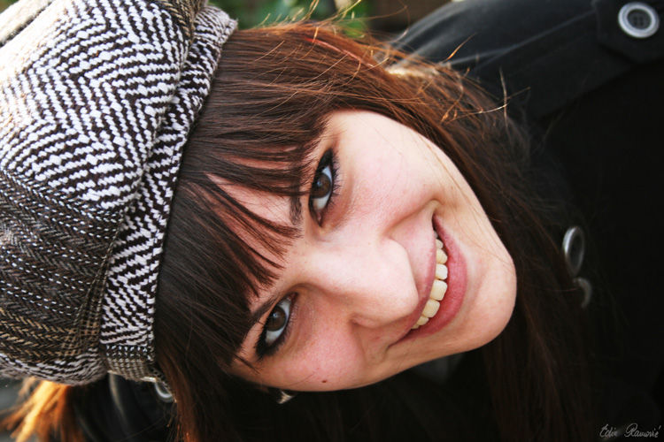 Woman portrait smile joy