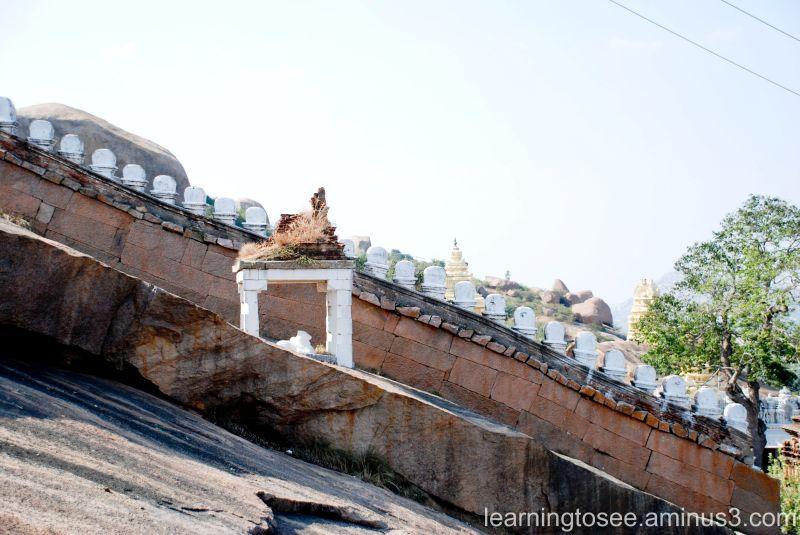 Nandi, Outside the Temple.