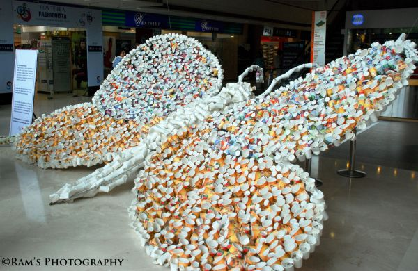 """Art out of waste"""