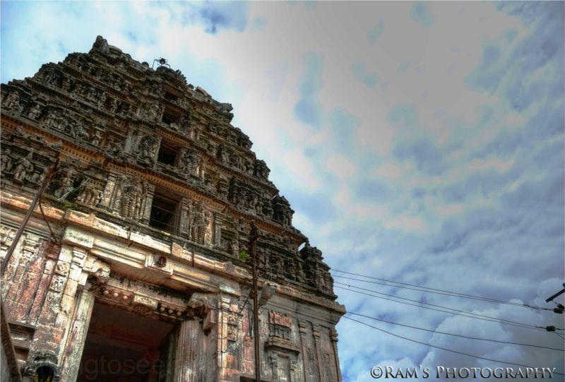 Gopuram, Yoga Narashimhaswamy Temple, Melukote