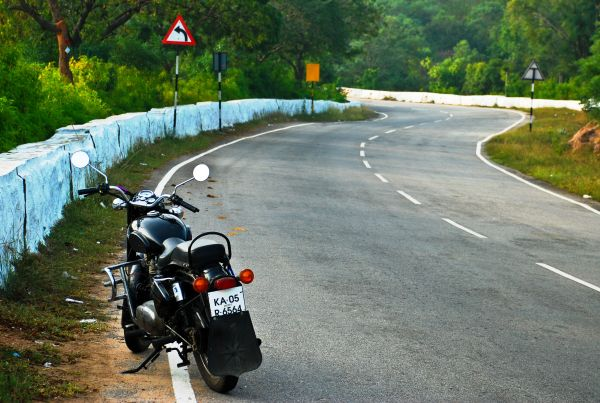 Thats my Ride.... Destination Chamundi Hills...