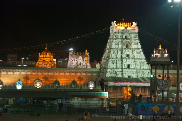 Tirumala Temple @ Night....