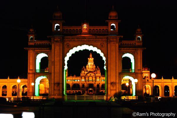 Mysore Palace @ Night