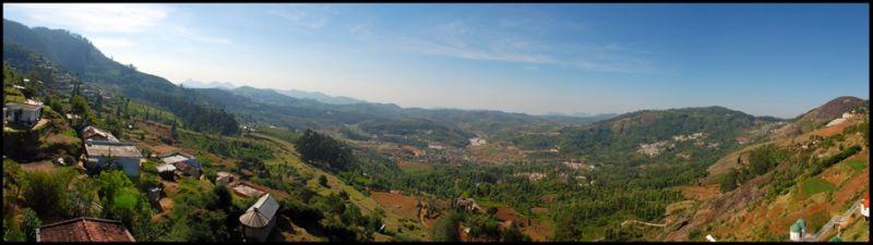 Valley View in between Ooty & Coonoor