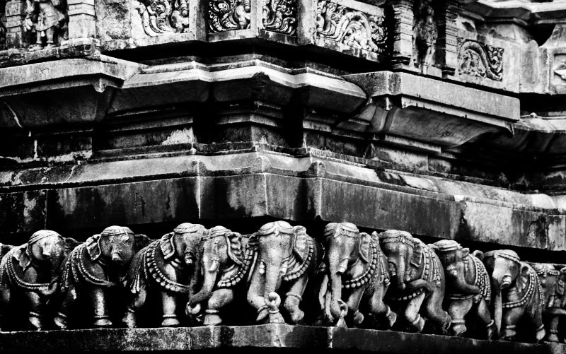 Sculptures of Beluru....