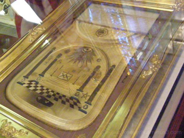 George Washington's Masonic Apron