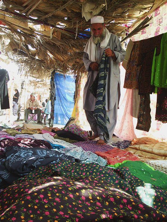 Afghan Seller in Roudan