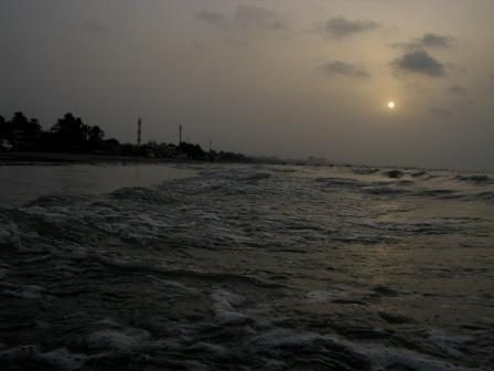 Sun Rise Soro Beach of Bandar-e-Abbas
