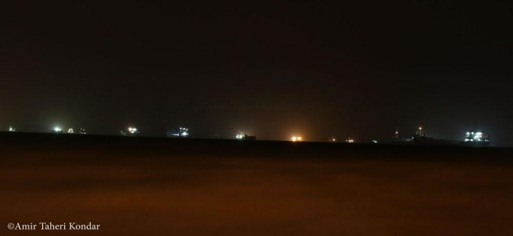 Persian Gulf Night, Bandar Abbas, Iran