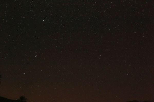 Perseids  Meteor Shower Kondar Keman Iran