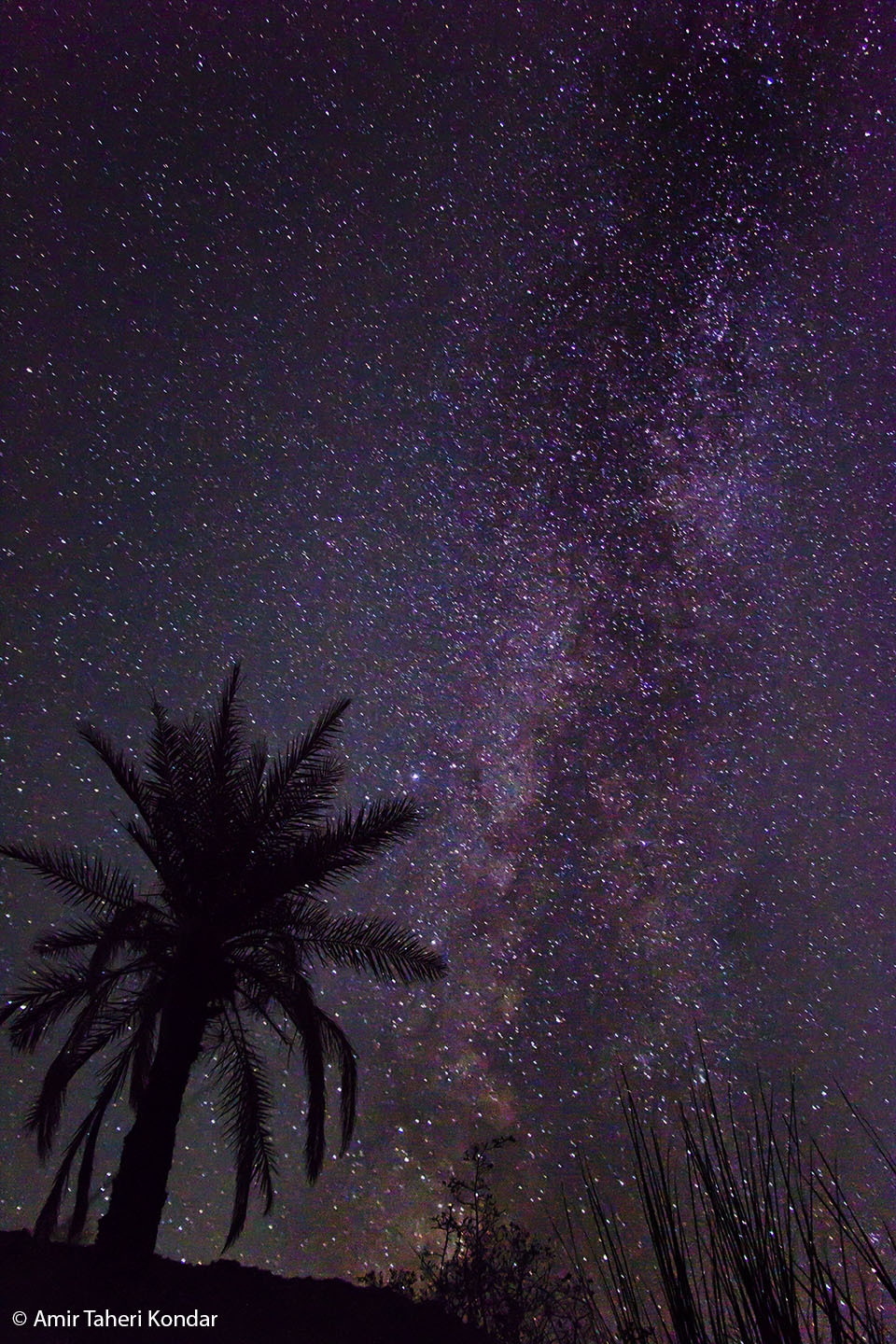 Milky Way Galaxy Kondar Kerman Iran
