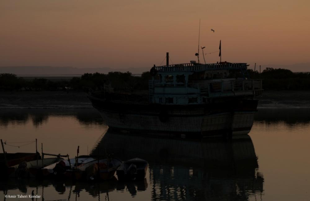 Sunset - Laft , Qeshm