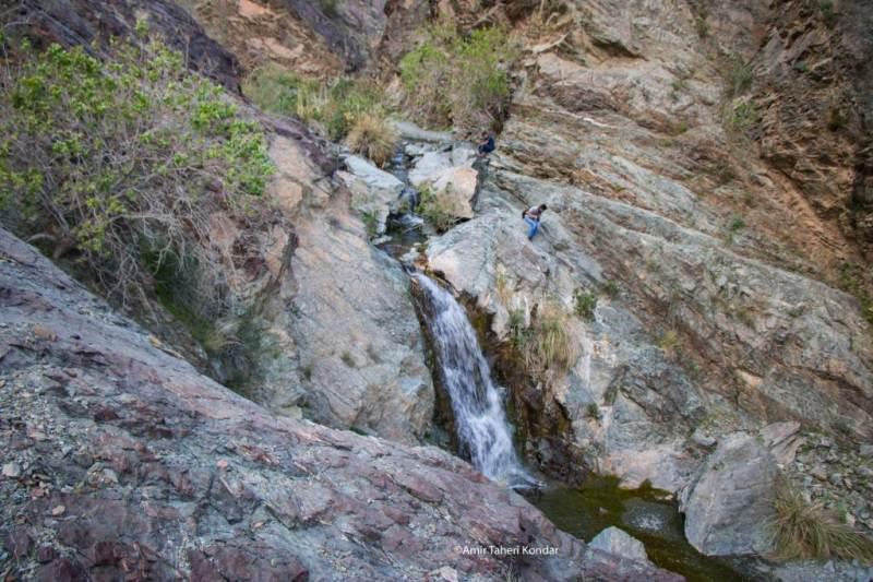 Dehkahan Waterfall
