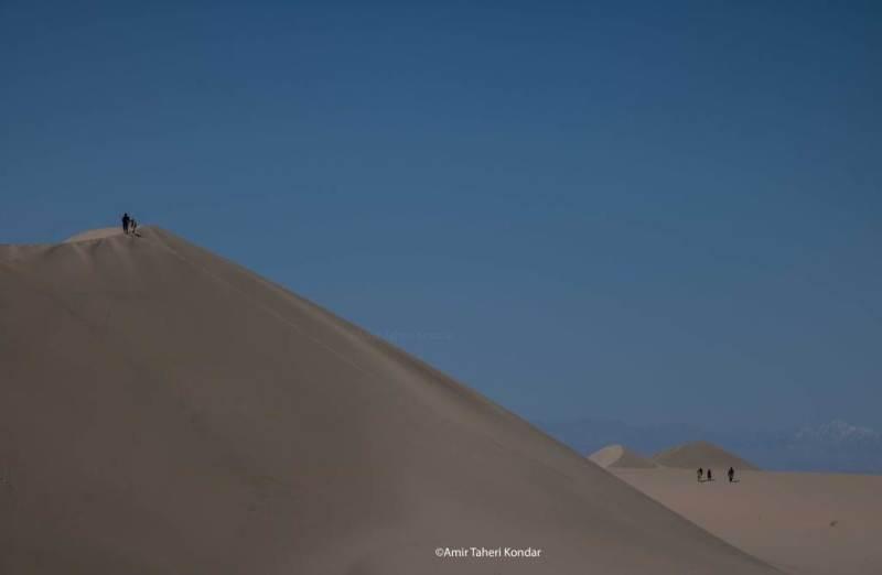 Sand Dunes of Rigan - Kerman